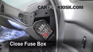 19972005 Buick Century Interior Fuse Check  2004 Buick