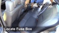 Interior Fuse Box Location: 2000-2005 Buick LeSabre - 2004 ...