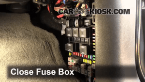 Interior Fuse Box Location: 20032006 Ford Expedition  2004 Ford Expedition XLT 54L V8