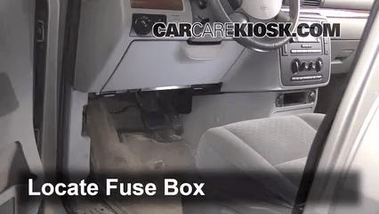 1996 Ford Ranger Under Hood Fuse Box Interior Fuse Box Location 2004 2007 Ford Freestar 2004