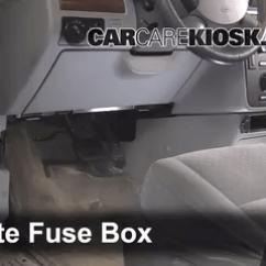 1996 Ford Windstar Fuse Diagram 1 4 Ohm Dual Voice Coil Wiring Interior Box Location: 2004-2007 Freestar - 2004 Sel 4.2l V6