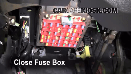 1994 Mazda B4000 Fuse Box Diagram Interior Fuse Box Location 1994 2004 Ford Mustang 1997