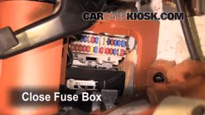 Interior Fuse Box Location: 20032008 Infiniti FX45  2004