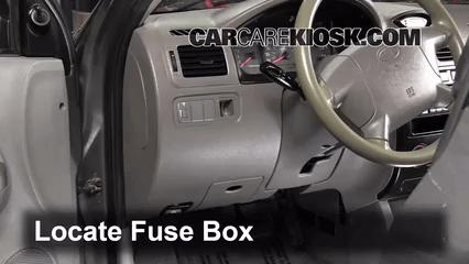 2002 Mitsubishi Galant Fuse Box Diagram Interior Fuse Box Location 2001 2005 Kia Rio 2004 Kia