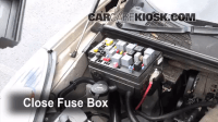Blown Fuse Check 2002-2007 Buick Rendezvous - 2005 Buick ...