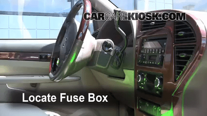 2011 Buick Enclave Fuse Box Interior Fuse Box Location 2002 2007 Buick Rendezvous
