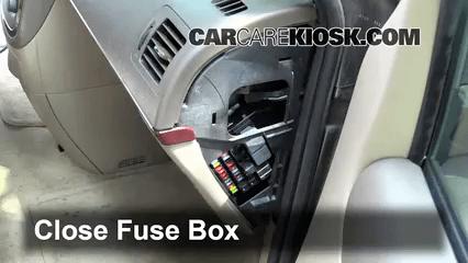 2014 Acadia Fuse Diagram 2005 2007 Buick Terraza Interior Fuse Check 2005 Buick