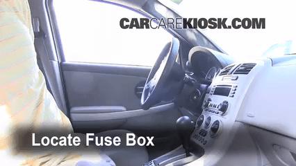 2003 Ion Fuse Box Interior Fuse Box Location 2005 2009 Chevrolet Equinox
