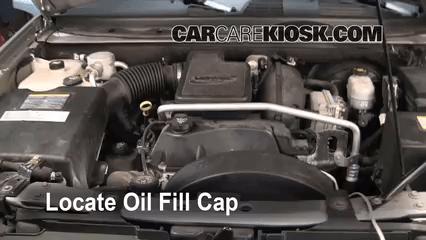 2006 Buick Rainier Fuse Box Oil Amp Filter Change Chevrolet Trailblazer 2002 2009