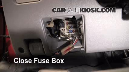 Fuse Panel Diagram 2002 2007 Mitsubishi Lancer Interior Fuse Check 2005