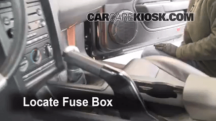 2013 Ford Fusion Fuse Panel Diagram Interior Fuse Box Location 2005 2009 Ford Mustang 2006