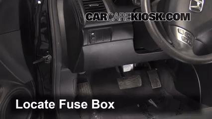 Cougar Fuse Box Diagram Interior Fuse Box Location 2003 2007 Honda Accord 2006
