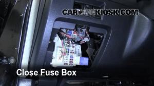 Interior Fuse Box Location: 20022006 Nissan Altima  2002 Nissan Altima 25L 4 Cyl