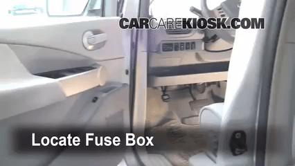 2013 Nissan Maxima Fuse Box Interior Fuse Box Location 2004 2009 Nissan Quest 2006