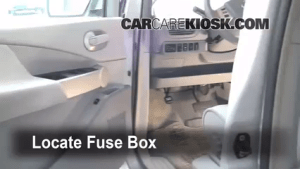 Interior Fuse Box Location: 20042009 Nissan Quest  2006