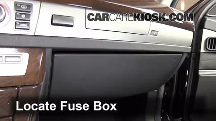 Xi Fuse Box Diagram Interior Fuse Box Location 2002 2008 Bmw 750li 2007 Bmw