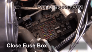 Replace a Fuse: 19962014 Chevrolet Express 3500  2007
