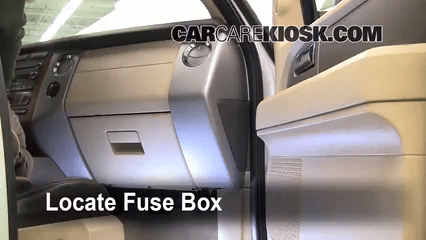 2001 Ford Ranger Fuse Diagram Central Junction Interior Fuse Box Location 2007 2016 Ford Expedition