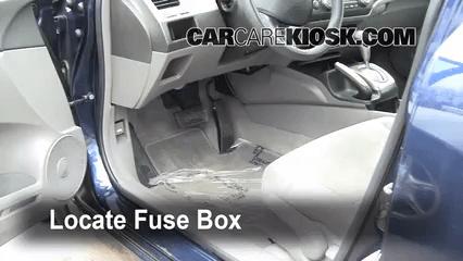 2008 Honda Accord Coupe Fuse Box Diagram 2006 2011 Honda Civic Interior Fuse Check 2007 Honda