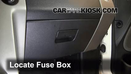 2008 Lincoln Mkx Fuse Diagram Interior Fuse Box Location 2006 2008 Lincoln Mark Lt