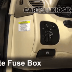 Car Interior Parts Diagram 4 Round Trailer Plug Wiring Fuse Box Location: 2003-2009 Mercedes-benz Clk550 - 2007 5.5l V8 ...