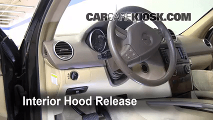 2014 Ram Interor Fuse Box Open Hood How To 2006 2011 Mercedes Benz Ml350 2007
