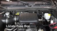 Interior Fuse Box Location: 2006-2009 Mitsubishi Raider ...