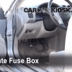 2016 Honda Civic Radio Wiring Diagram 240v Electric Baseboard Heat Interior Fuse Box Location: 2007-2013 Nissan Altima - 2007 S 2.5l 4 Cyl.