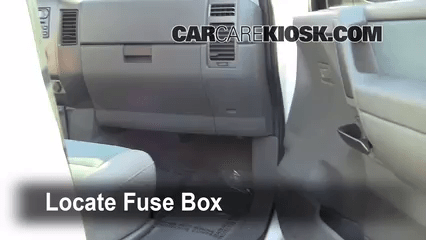 2006 Ford Freestyle Fuse Panel Diagram Interior Fuse Box Location 2004 2015 Nissan Titan 2007