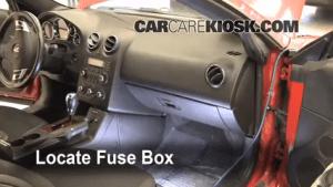 Interior Fuse Box Location: 20052010 Pontiac G6  2007 Pontiac G6 35L V6