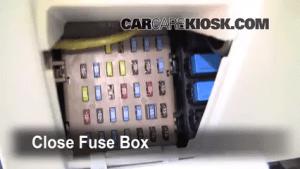 Interior Fuse Box Location: 20052009 Subaru Legacy  2007