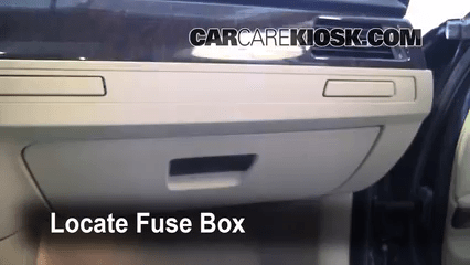 Xi Fuse Box Location Interior Fuse Box Location 2006 2013 Bmw 328xi 2008 Bmw
