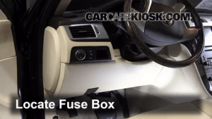 Interior Fuse Box Location: 20072014 Cadillac Escalade  2008 Cadillac Escalade 62L V8