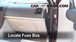 Interior Fuse Box Location: 20052008 Chevrolet Uplander