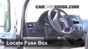 Interior Fuse Box Location: 20072016 Dodge Sprinter 2500  2008 Dodge Sprinter 2500 30L V6