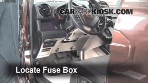 Interior Fuse Box Location: 20032011 Honda Element  2008