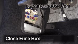 Interior Fuse Box Location: 20062010 Infiniti M35  2008