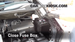 Replace a Fuse: 20042009 Lexus RX350  2008 Lexus RX350 35L V6