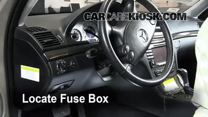2007 Ford E250 Fuse Box Diagram Interior Fuse Box Location 2003 2009 Mercedes Benz E320