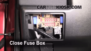 Interior Fuse Box Location: 20082013 Nissan Rogue  2008
