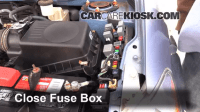 2003 Toyota Matrix Fuse Box Removal, 2003, Free Engine ...