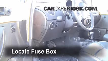 2012 Eos Fuse Box Interior Fuse Box Location 2006 2010 Volkswagen Beetle