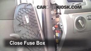 Interior Fuse Box Location: 20062009 Volkswagen Rabbit  2008 Volkswagen Rabbit S 25L 5 Cyl