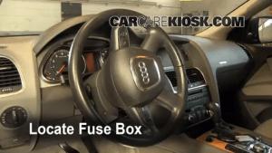 20072014 Audi Q7 Interior Fuse Check  2009 Audi Q7 Premium 36L V6