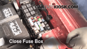Replace a Fuse: 20092016 Ford Flex  2009 Ford Flex SEL 35L V6