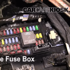 2008 Dodge Magnum Radio Wiring Diagram Downloadable Blank Fishbone Interior Fuse Box Location: 2009-2016 Ford Flex - 2009 Sel 3.5l V6