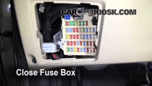 Interior Fuse Box Location: 20072012 Hyundai Santa Fe  2009 Hyundai Santa Fe Limited 33L V6