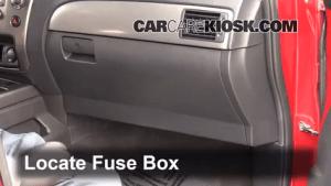 Interior Fuse Box Location: 20042015 Nissan Armada  2009