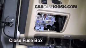 Interior Fuse Box Location: 20092014 Nissan Maxima  2009