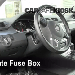2013 Volkswagen Jetta Fuse Box Diagram T568a Wiring Interior Location: 2009-2016 Cc - 2009 Luxury 2.0l 4 Cyl. Turbo